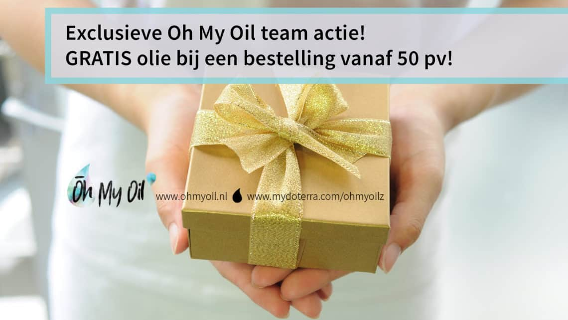 november aanbieding oh my oil