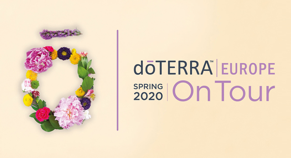 doterra nieuwe producten korting spring tour nederland