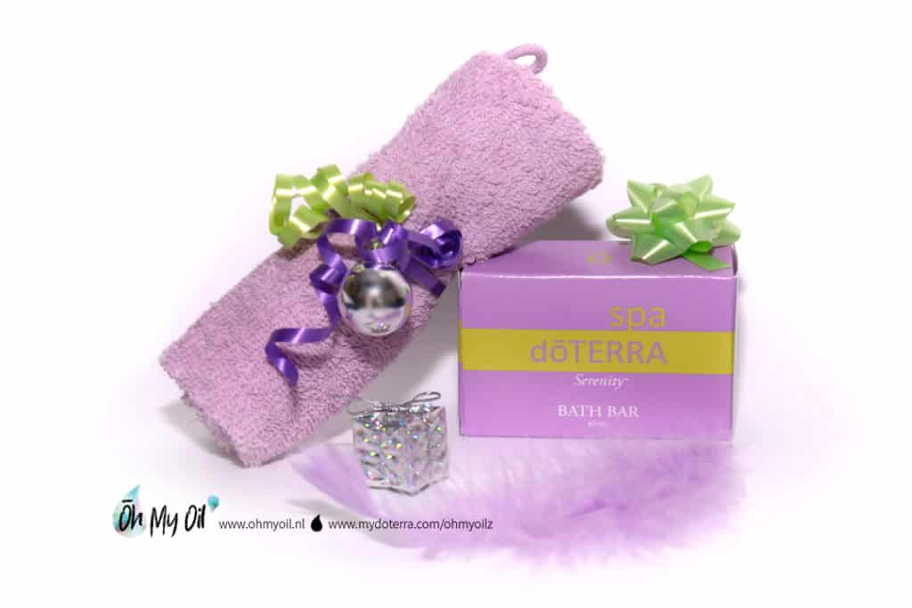 doterra oh my oil serenity soap zeep washand